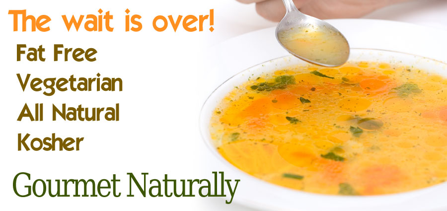 Gourmet Naturally Soup Broths.